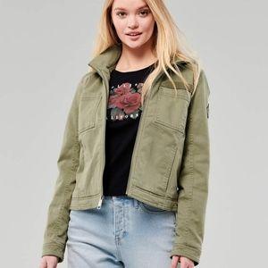 Hollister Hooded Military Jacket